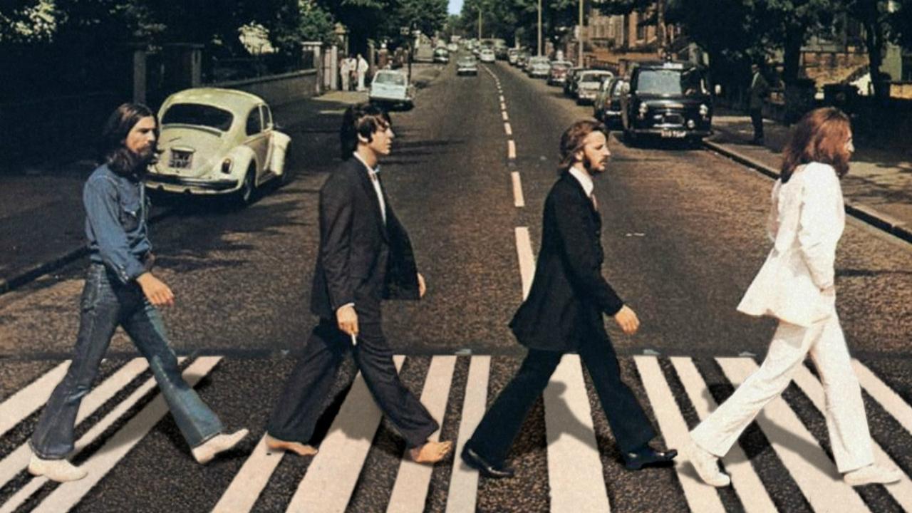 """Foto da capa do disco """"Abbey Road"""" (1969), dos Beatles (Reprodução)"""