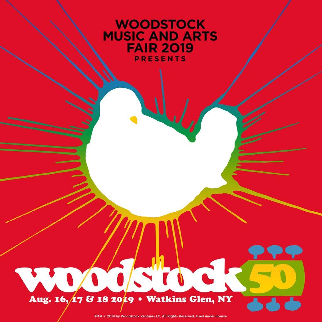 Logo do Woodstock 50 (Divulgação)
