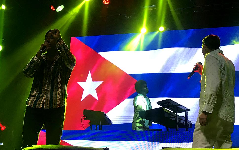 Cubanos do Orishas fazem show no Tropical Butantã em SP (Amon Borges - 13.abr.2019/Folhapress)