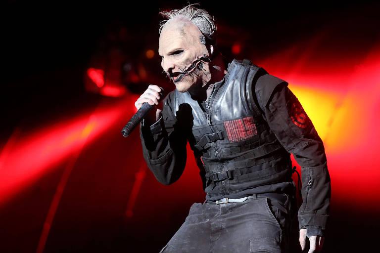 Show da banda americana Slipknot no Rock in Rio 2015 (Fernando Maia - 25.set.2015/Folhapress)